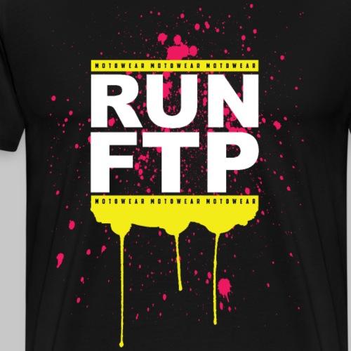 RUN FTP - Men's Premium T-Shirt