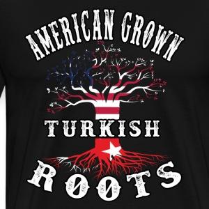 Turkish Roots american Grown - Men's Premium T-Shirt