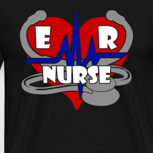 ER Nurse Shirt - Men's Premium T-Shirt