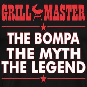 Grillmaster The Bompa The Myth The Legend BBQ - Men's Premium T-Shirt