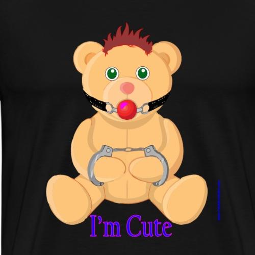 I´m Cute 3 - Sado Teddy - Men's Premium T-Shirt