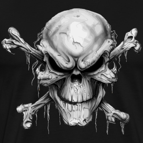 Skull And Crossbones - Men's Premium T-Shirt
