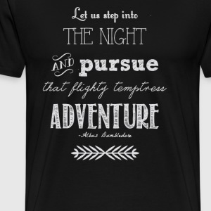 Let us the night and purse - Men's Premium T-Shirt