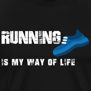 Running T-Shirt - Men's Premium T-Shirt