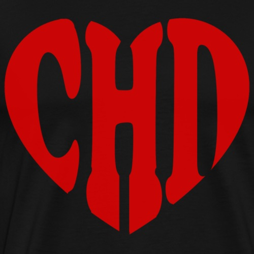 CHD Heart - Men's Premium T-Shirt