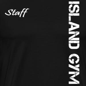 Island Gym Staff 002 - Men's Premium T-Shirt