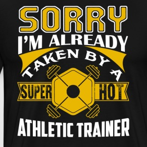 Super Hot Athletic Trainer Shirt - Men's Premium T-Shirt