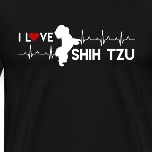 Love Shih Tzu Shirt - Men's Premium T-Shirt