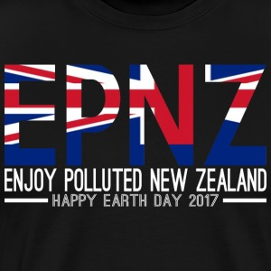 EPNZ Enjoy Polluted New Zealand Happy Earth Day - Men's Premium T-Shirt