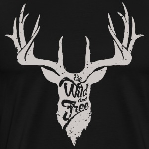 Be wild and free - Men's Premium T-Shirt