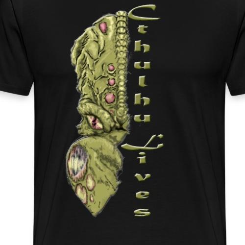 Chthulhu Lives - Men's Premium T-Shirt