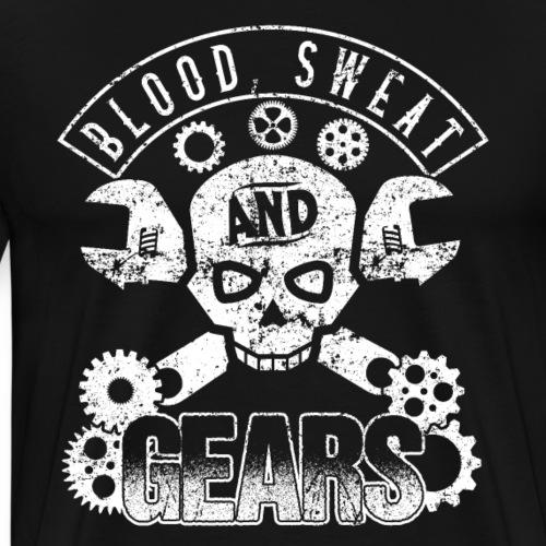 Blood Sweat & Gears Motorcycles - Men's Premium T-Shirt