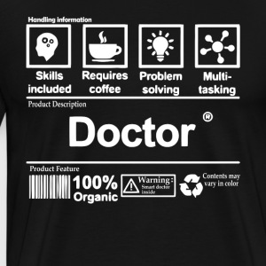 Awesome Doctor T Shirt - Men's Premium T-Shirt