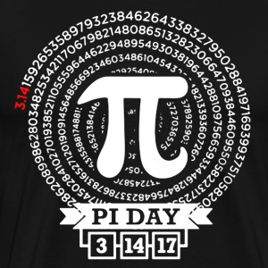 Pi Day 2017 Tee Shirt - Men's Premium T-Shirt