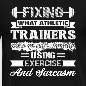 Athletic Trainer Tee Shirt - Men's Premium T-Shirt