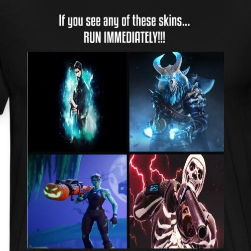 The 4 skins - Men's Premium T-Shirt