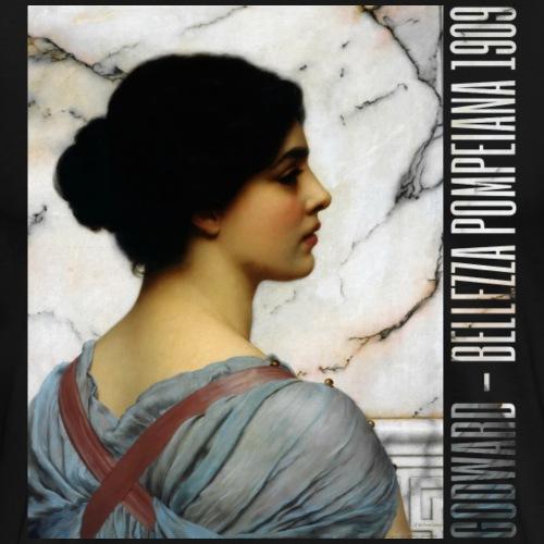 John William Godward - Bellezza Pompeiana 1909 - Men's Premium T-Shirt