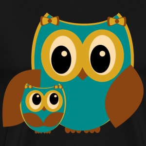 Owl Family - Men's Premium T-Shirt