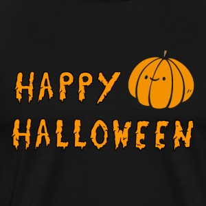 Happy Halloween Pumpkin Shirt - Men's Premium T-Shirt
