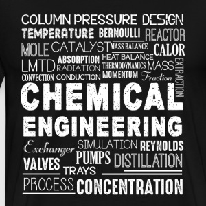 Chemical Engineering Word Shirt - Men's Premium T-Shirt