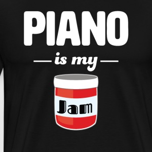 Piano is my Jam - Men's Premium T-Shirt
