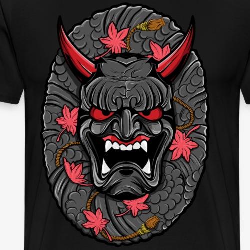 Japanese Hannya Mask - Men's Premium T-Shirt