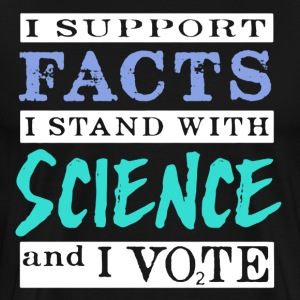 SCIENCE VOTERS SHIRT - Men's Premium T-Shirt