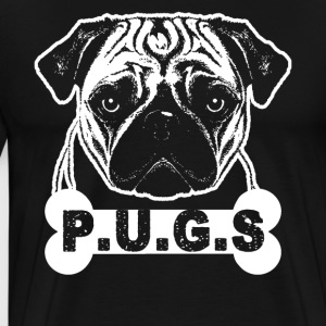 Pugs Lovers Shirt - Men's Premium T-Shirt