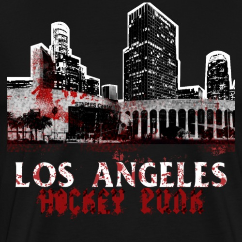 Los Angeles Hockey Punk - Men's Premium T-Shirt