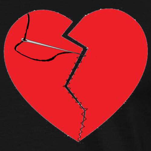 Sewn Up Heartbreak - Men's Premium T-Shirt