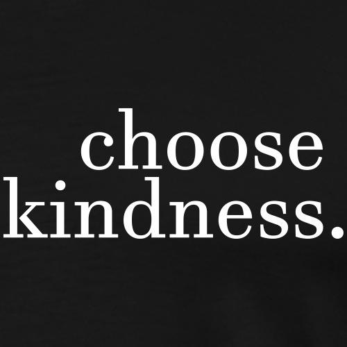 Choose Kindness - Stop Bullying (White logo) - Men's Premium T-Shirt