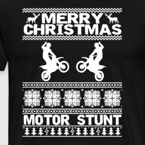 Merry Christmas Motor Stunt Shirt - Men's Premium T-Shirt
