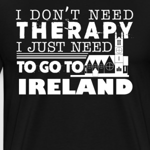 Ireland Therapy Shirt - Men's Premium T-Shirt