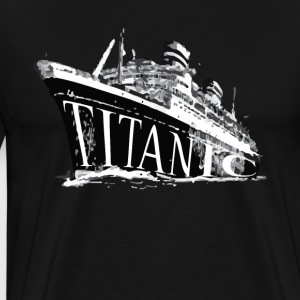 Titanic Historical Graphic Tee Shirt - Men's Premium T-Shirt