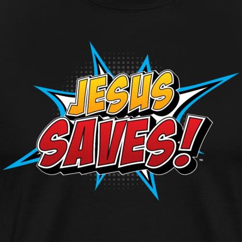 Jesus Saves! - Men's Premium T-Shirt