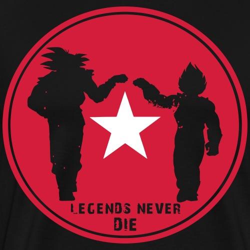 Legends Never Die. - Men's Premium T-Shirt