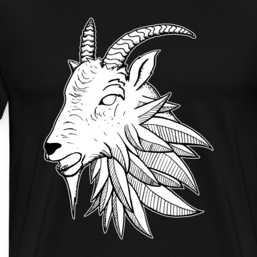 Goat Wolf - Men's Premium T-Shirt