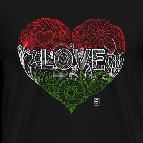 I ♥ Hungary - Men's Premium T-Shirt