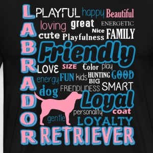Labrador Retriever Shirt - Men's Premium T-Shirt