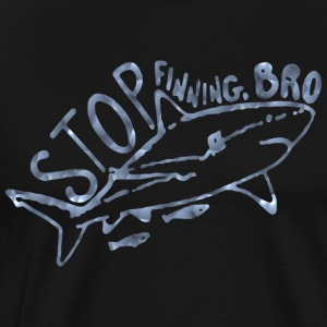Save the Sharks Shark Fish Animal - Men's Premium T-Shirt