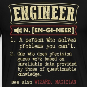 Engineer Meaning T Shirt - Men's Premium T-Shirt