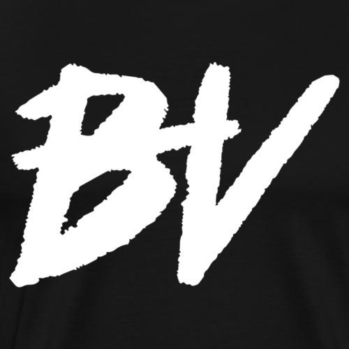 BHV Logo (White) - Men's Premium T-Shirt