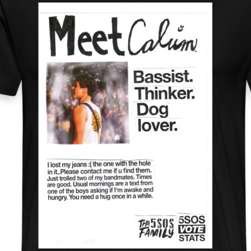She Looks So Perfect - Meet Calum COLORBLOCK - Men's Premium T-Shirt