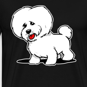 Bichon Frise Dog Shirt - Men's Premium T-Shirt