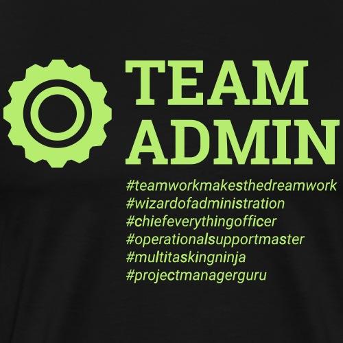 Team Admin - Men's Premium T-Shirt