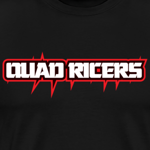 Quad Ricers Red Spike T-Shirt - Men's Premium T-Shirt