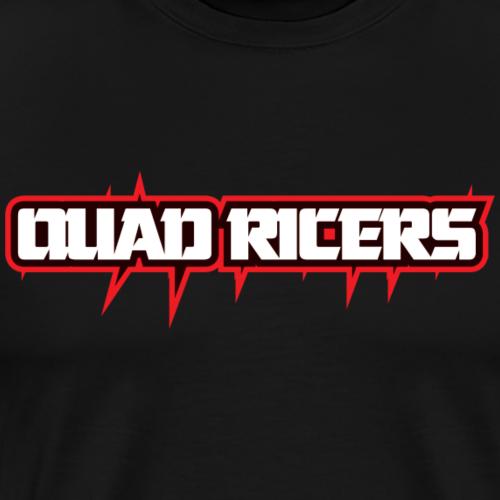 Quad Ricers Red Spike T-Shirt - Men's Premium T-Shirt