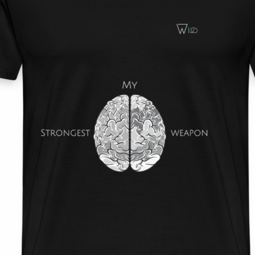 My strongest weapon - Men's Premium T-Shirt