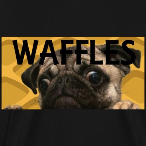 Waffles the dog - Men's Premium T-Shirt