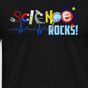 Science Rocks Tee Shirt - Men's Premium T-Shirt